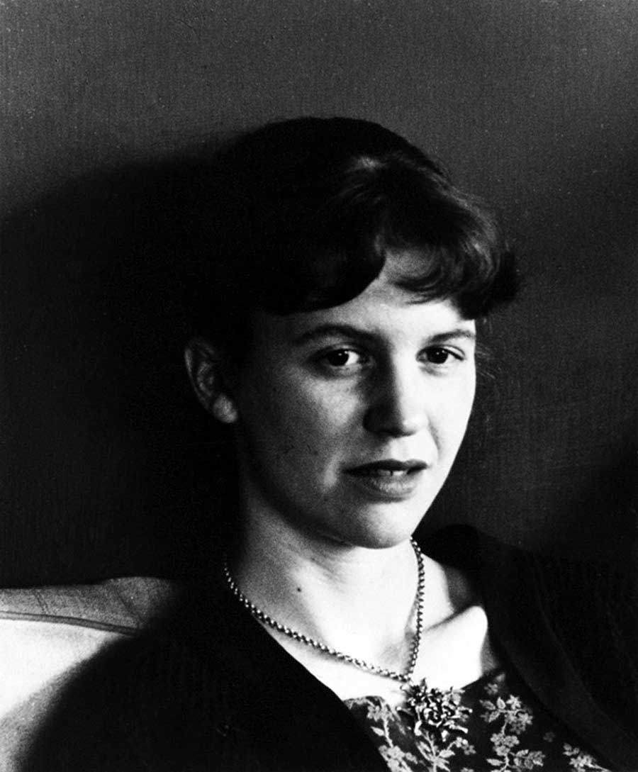 Sylvia Plath, 1959; photograph by Rollie McKenna