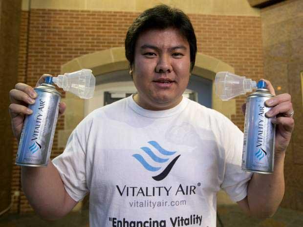 Kanada Çin'e şişelenmiş temiz hava satmaya başladı