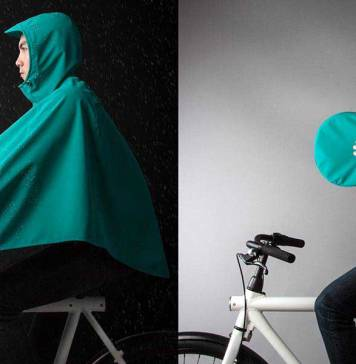Bu bisiklet pançosu yağmurlu günlerde bisikletçiler için mükemmel bir aksesuar olabilir