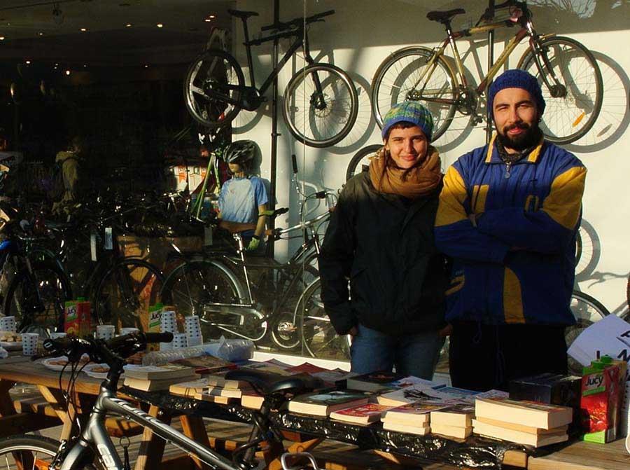 bisikletli sahaf 2