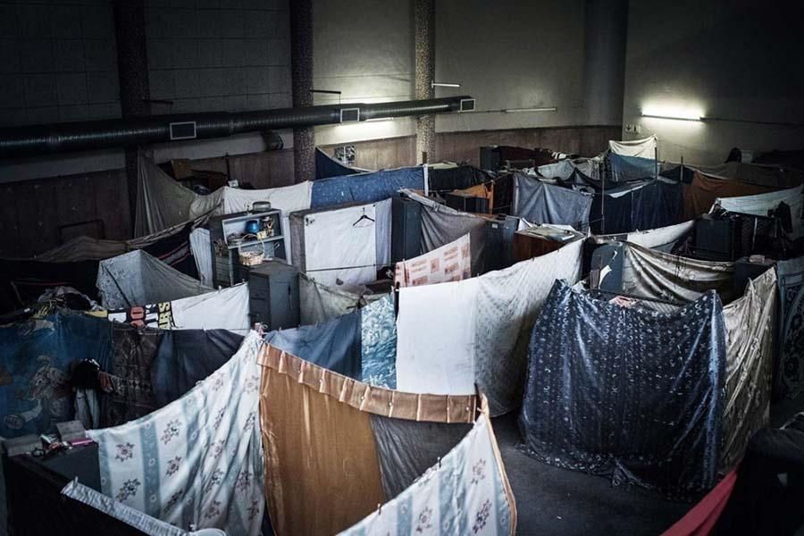 cloth-walls