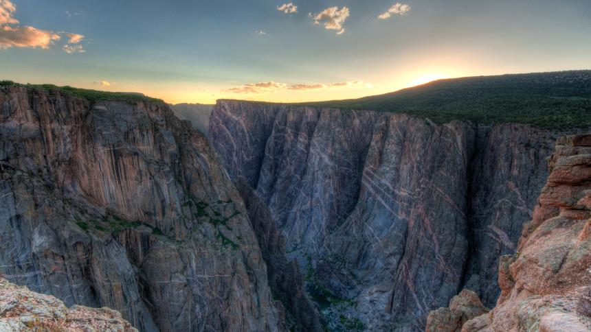 1. Gunnison Milli Parki, Black Canyon, Colorado