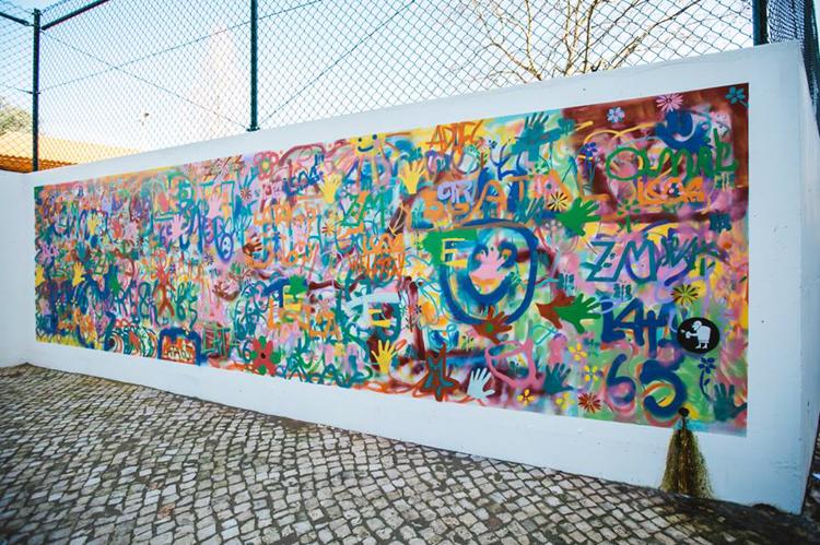 Grafitici babaanne ceteleri portekiz sokaklarinda 7