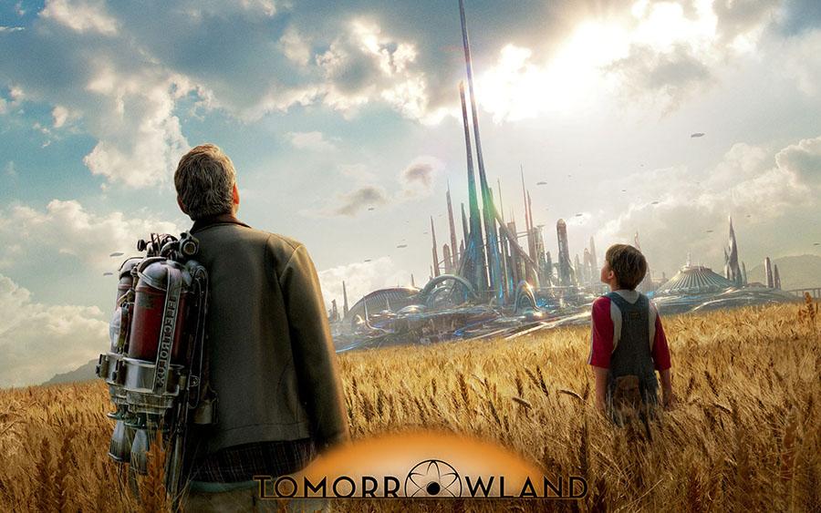 Tomorrowland filminin muthis gelecek ongorusu -kapak