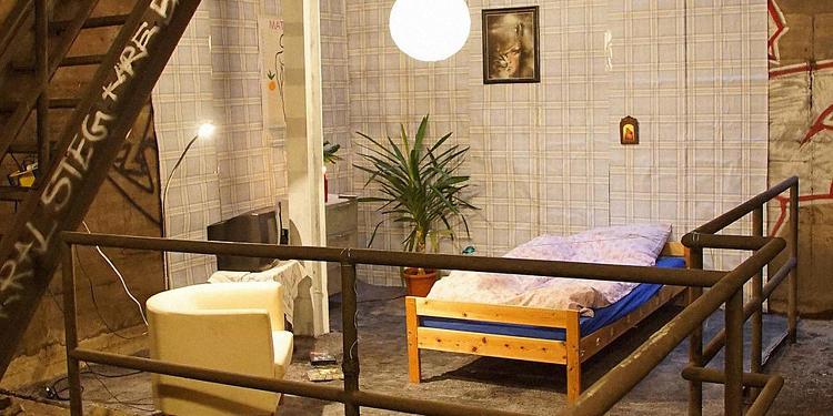berlin, metro, yatak odasi 2