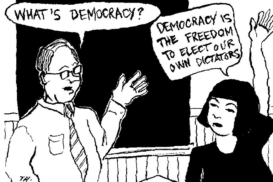 demokrasinedir