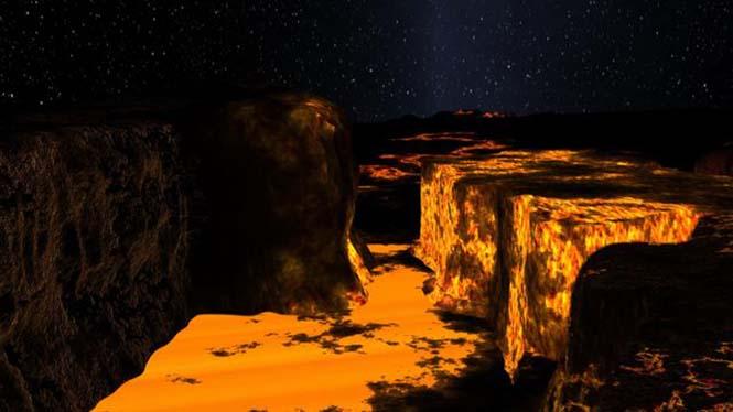 Kepler-10b'nin Uçurumları