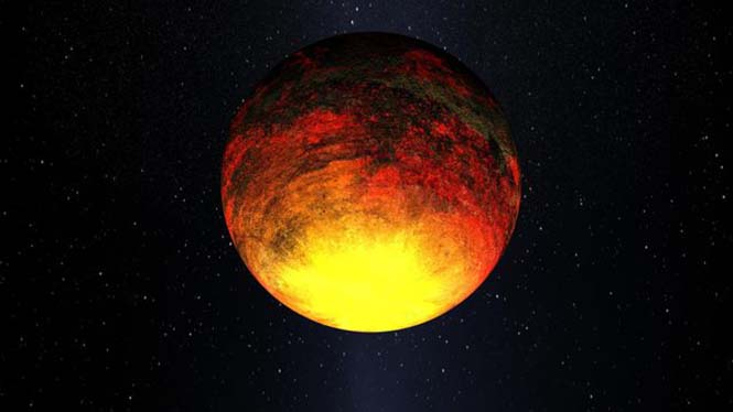 Kepler-10b'nin Yakılmış Dünyası
