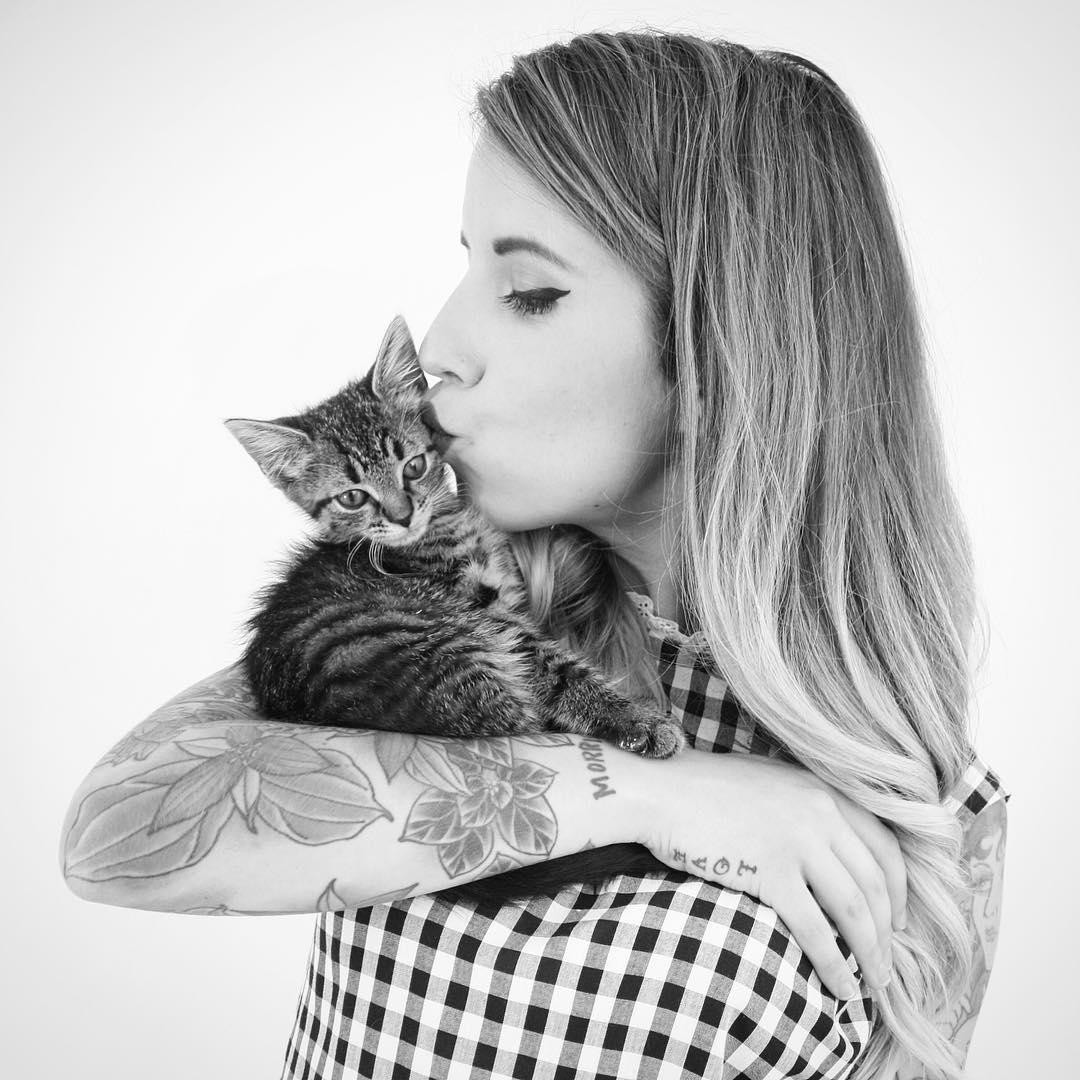 kittenlady 5
