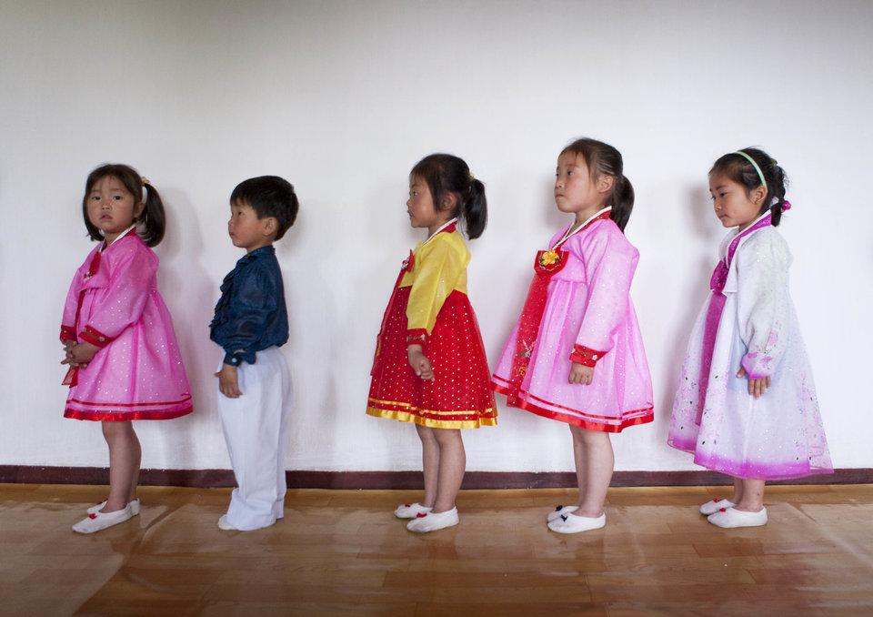 PRIMARY SCHOOL, NORTH KOREA