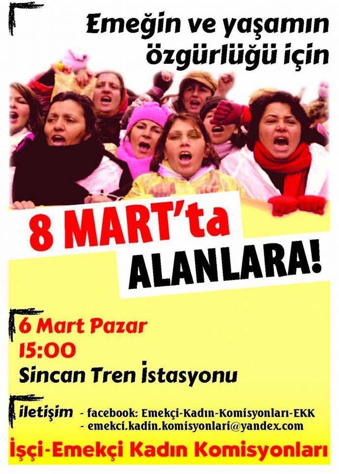 işçi emekçi kadın komisyonları