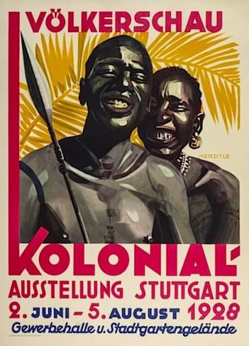 Avrupa'nın ırkçı sırrı, insanat bahçeleri 022kolonialhumger