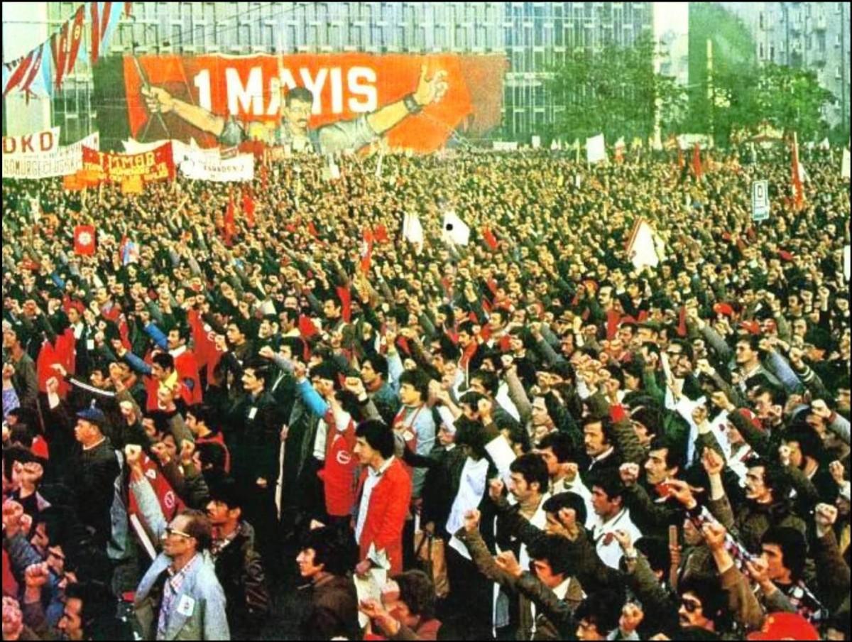 1 Mayıs 1977, Taksim