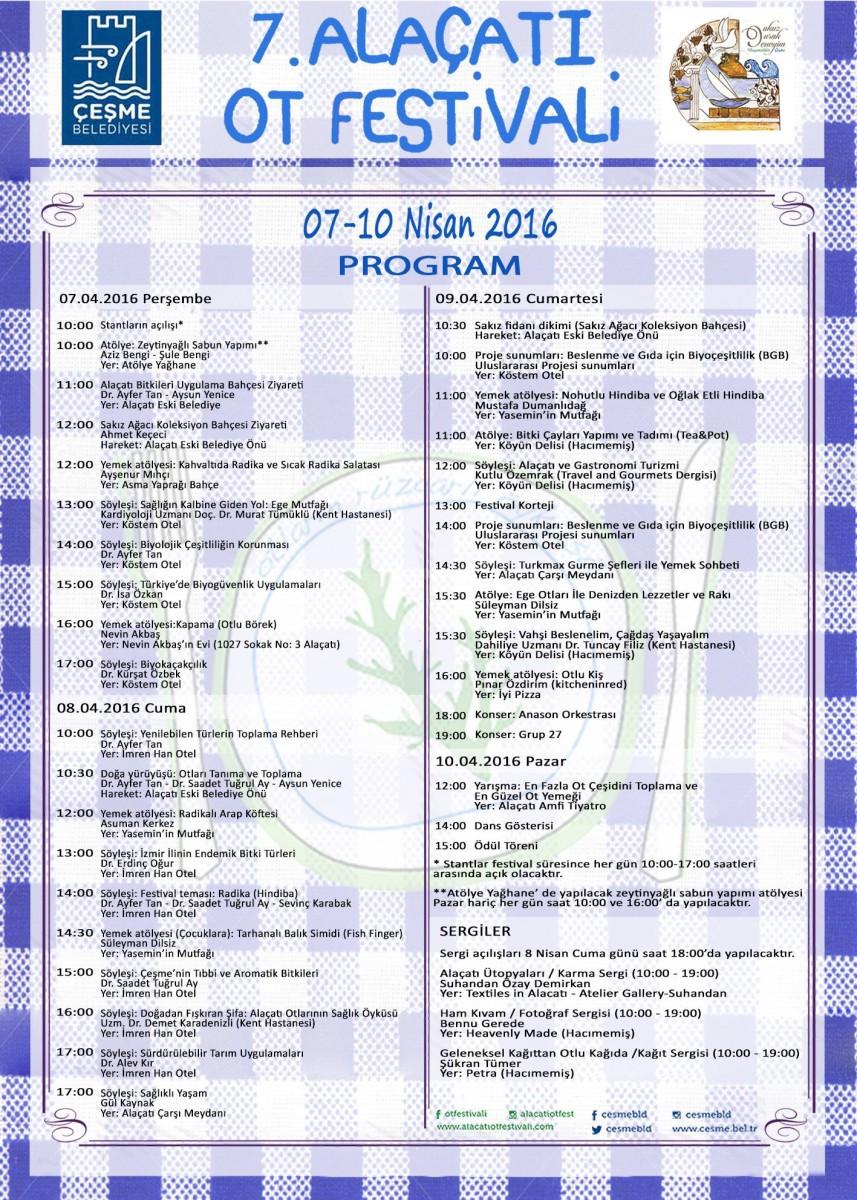 Alacati Ot Festivali Program