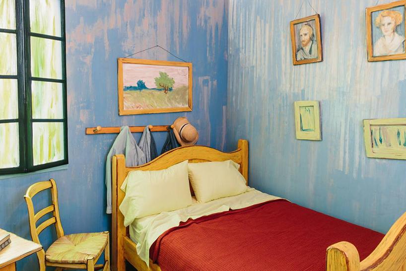 Van Gogh'un unlu tablosunun icinde bir gece4