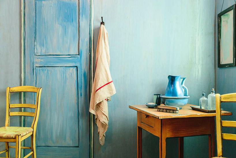 Van Gogh'un unlu tablosunun icinde bir gece5