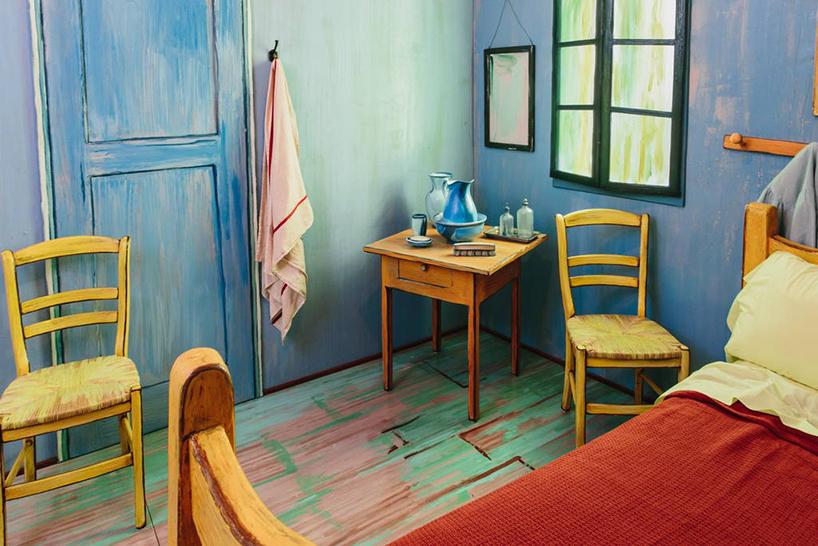 Van Gogh'un unlu tablosunun icinde bir gece6