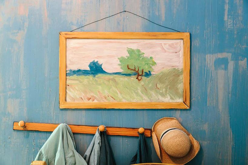 Van Gogh'un unlu tablosunun icinde bir gece7