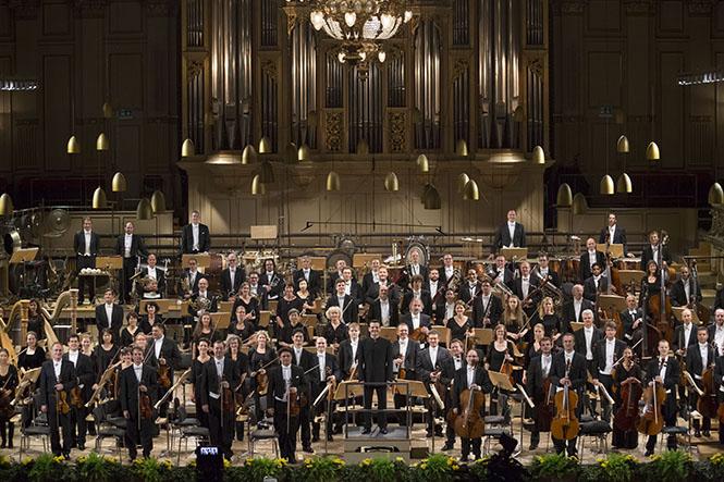 Zürih Tonhalle Orkestrası, 10 Eylül 2014. Fotoğraf: Priska Ketterer Luzern