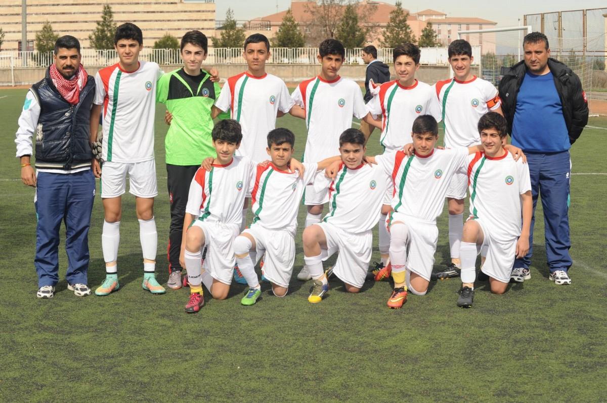 AmedSpor'un genç takımlarından biri...