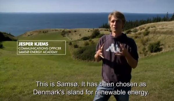 Samso Enerji Akademisi'nden Jasper Kjems