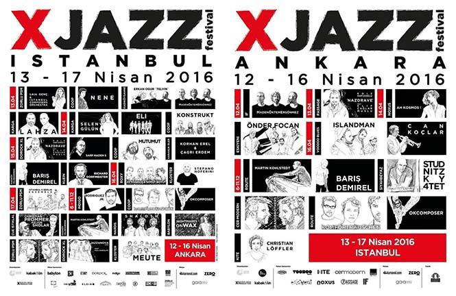 xjazz festival guncel line up