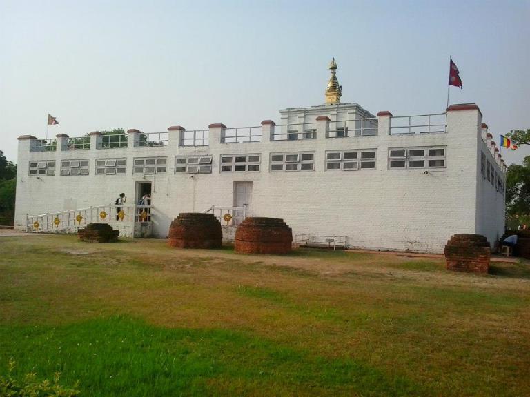 Buddha'nın doğduğu yer - Lumbini, Nepal 1