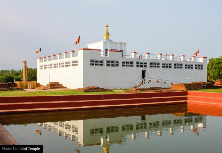 Buddha'nın doğduğu yer - Lumbini, Nepal 2