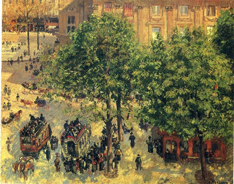 Place du Theatre-Francais (Spring)