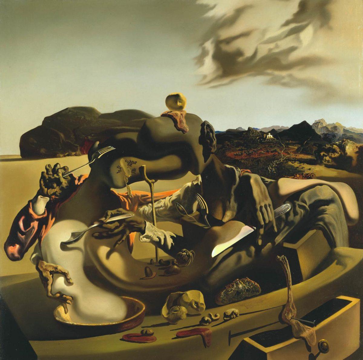 Autumnal Cannibalism Salvador Dalí