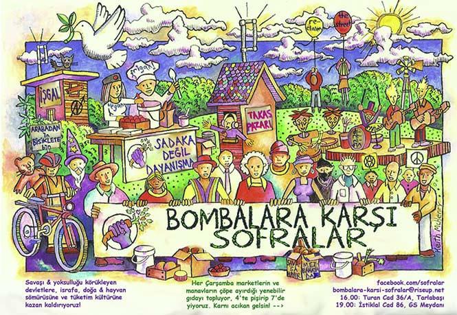 bombalara karsi sofralar poster 2016