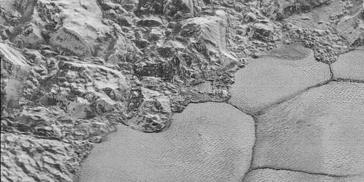 Pluton'un çekilen en detaylı fotoğrafları
