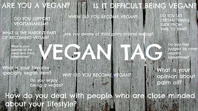 vegan tag