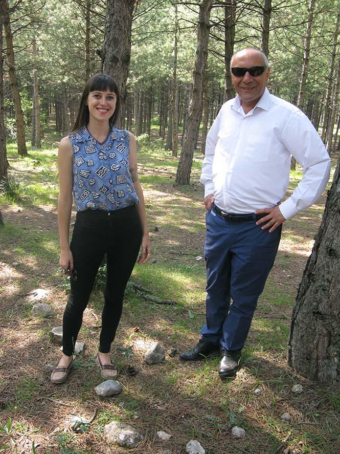 Gazeteci Mehmet Çetinkaya, Safranbolu Ormanlarını gezdirdi.
