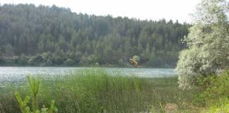 Kuş seslerinin müzik yaptığı Ortakçı Gölü, Eflani