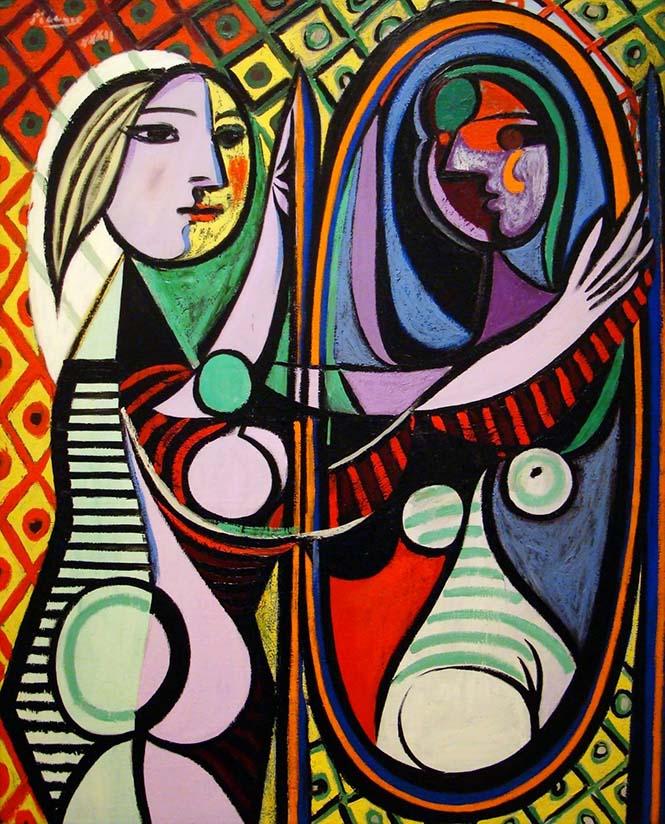 Aynadaki Kadın, Picasso