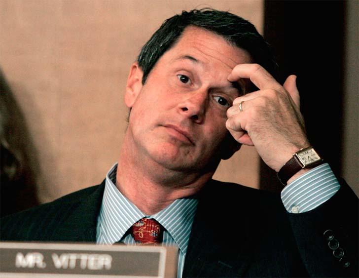 David Vitter  Dünyanın unutmayacağı 32 siyasi skandal David Vitter