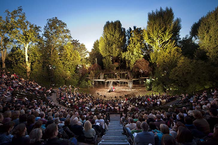 Regent's Park Open Air Theatre. Photo by David Jensen_