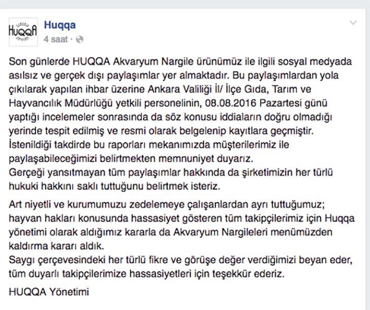 huqqa facebook aciklamasi