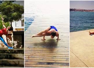 Özde Çolakoğlu ile birlikte eko yogayı deneyimleyelim