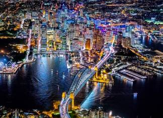 Sydney photo taken by Vincent Laforet