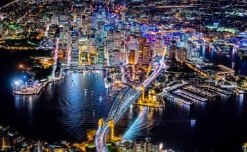 Sydney photo taken by Vincent Laforet