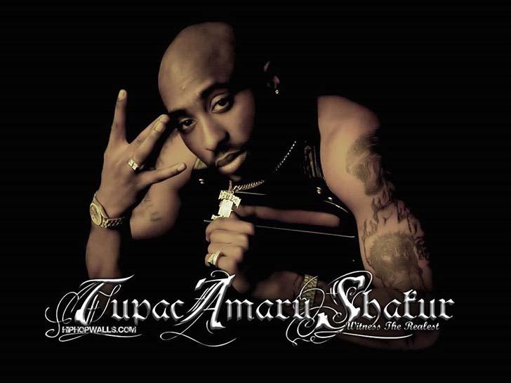 tupac  Tupac Shakur: Siyahi varoş mesihi tupac