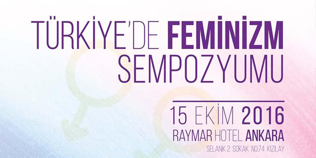 Türkiye'de Feminizm Sempozyumu