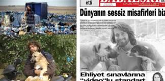 Saldırganlar köpeklere ve onlarla ilgilenen gönüllü Gökçer Korkmaz'a ateş açtılar
