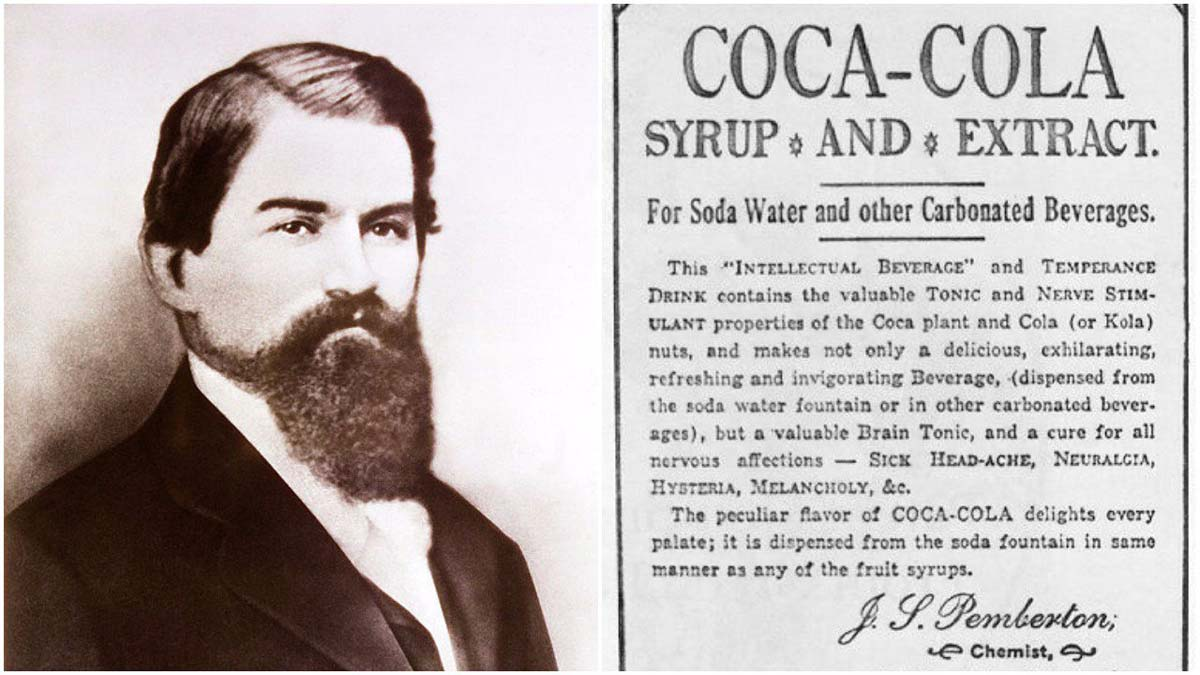 Coca Cola'nın mucidi morfine bağımlı ve parasız şekilde öldü