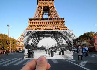 1900'lerden günümüze Paris'in ne kadar değiştiğini gösteren 21 büyüleyici fotoğraf