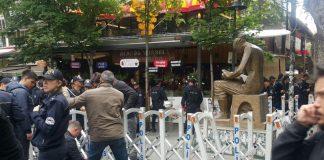 """Başkent şaşkın: Ankara'da """"İnsan Hakları Anıtı"""" gözaltında…"""