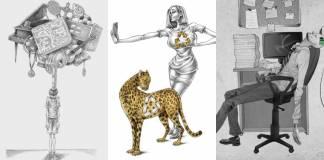 Al Margen eleştirel çizimleriyle, günümüz toplumundaki hataları gün yüzüne çıkarıyor