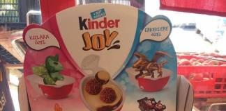 Oyuncakların ve renklerin cinsiyeti yoktur Kinder!